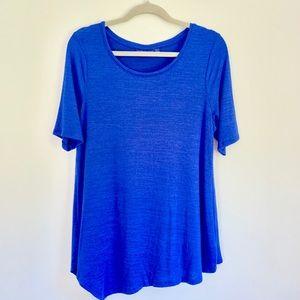 Assimetrical Cobalt Sweater